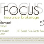FOCUS Insurance Identity Package